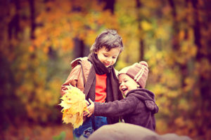 Blue Bird Day and Using Leaves For Language Development Blog