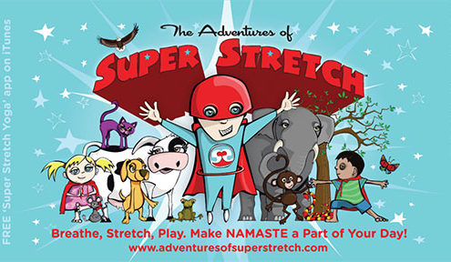 Blue Bird Day and Adventures of Super stretch book