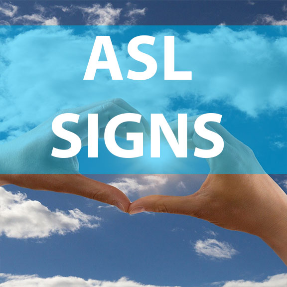 Blue Bird Day and ASL signs