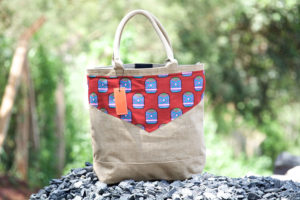 Blue Bird Day and bag