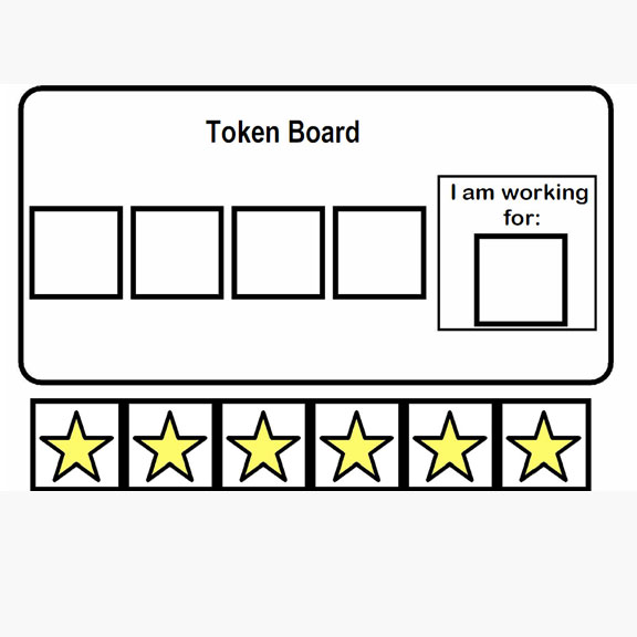 Blue Bird Day and token board