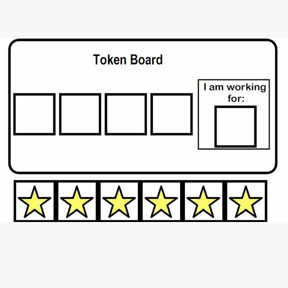 Blue Bird Day and token board