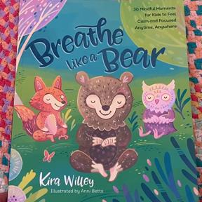 Blue Bird Day and Breathe like a bear book