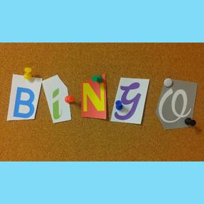Blue Bird Day and bingo