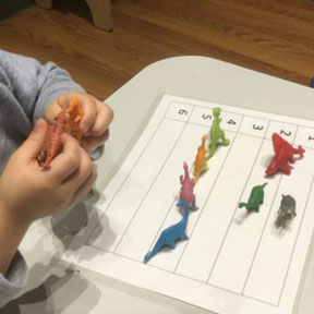 Blue Bird Day and dinosaurs