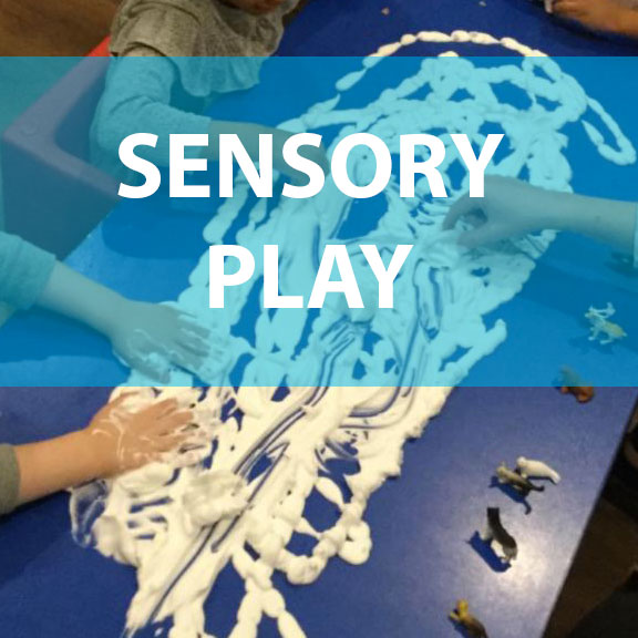 Blue Bird Day and sensory play
