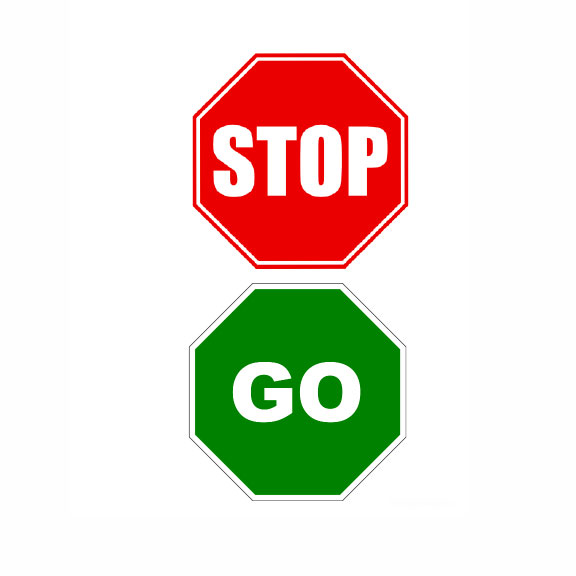 Blue Bird Day and stop go