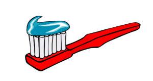 Blue Bird Day and brushing teeth