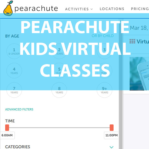 Blue Bird Day and pearachute kids virtual classes