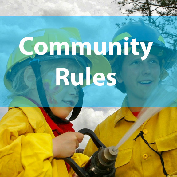Blue Bird Day and community rules