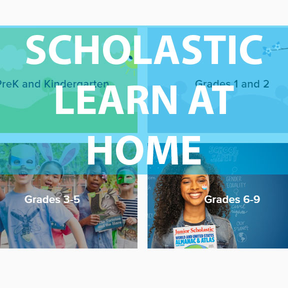 Blue Bird Day and Scholastic Learn at home
