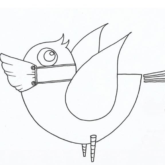 Blue Bird Day Social Story