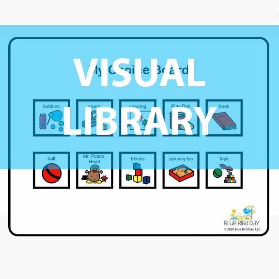 Blue Bird Day Visual Library