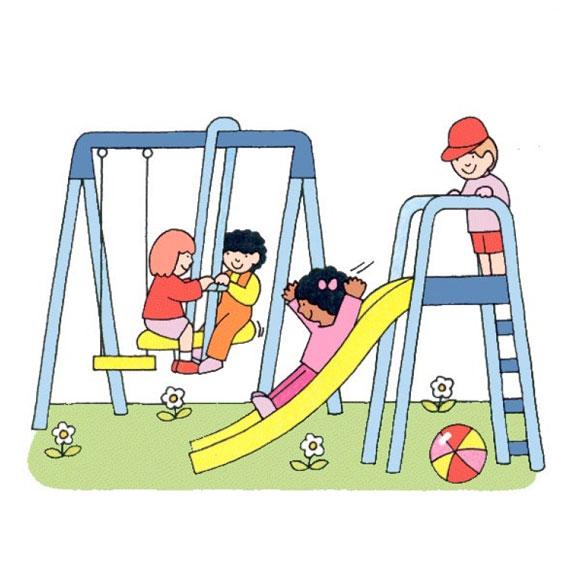 Blue Bird Day-Playing-Playground