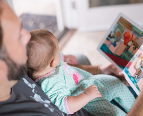 Blue Bird Day and When Should You Start Reading To Your Child